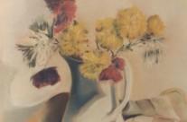 Pastel fleurs