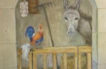 L'âne et le coq