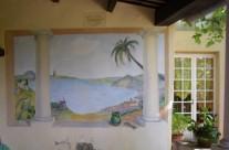 Peinture murale dans le Gard (particulier)